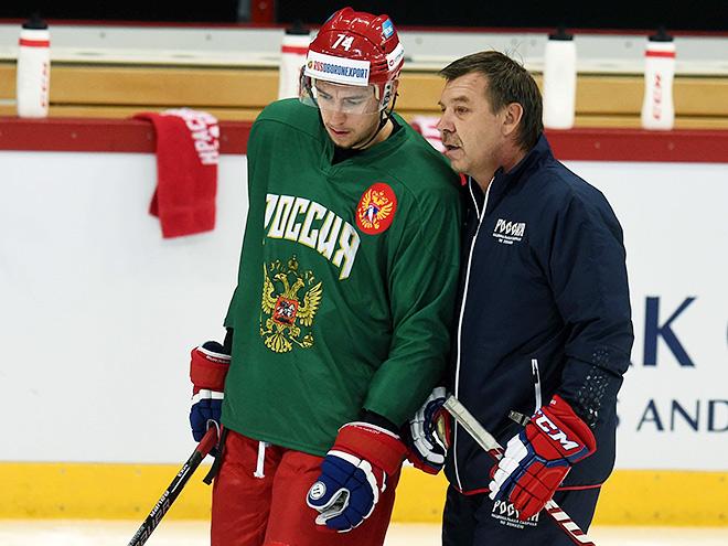 Сборная России на Кубке Карьяла в день перерыва