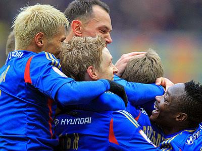ЦСКА обыграл в Краснодаре «Кубань» - 3:1
