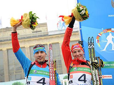 Звёзды биатлона стремятся на «Гонку чемпионов»