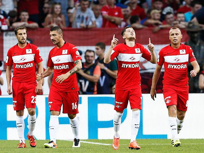 «Спартак» - «Арсенал» - 4:0. 31 июля 2016 года. Обзор матча, фото, видео