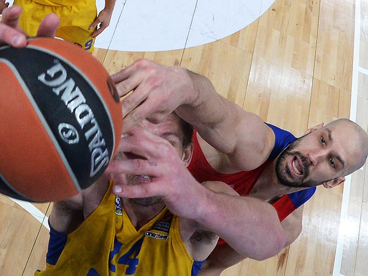 Баскетболисты ЦСКА обыграли «Маккаби» вЕвролиге