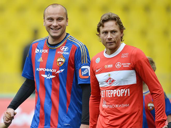 Дмитрий Хохлов и Валерий Карпин