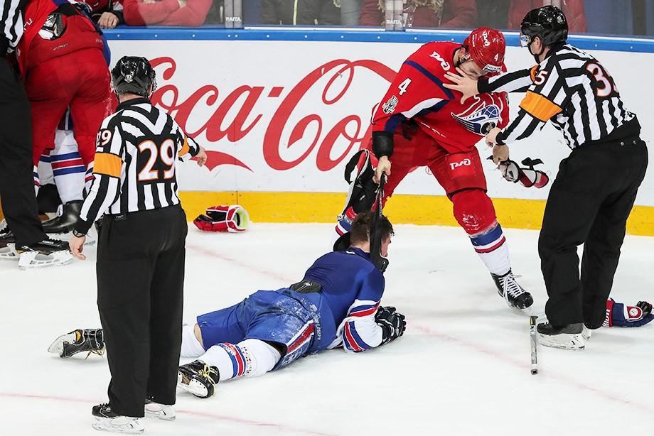 СКА одержал крупную победу над «Локомотивом» вчетвёртом матче серии
