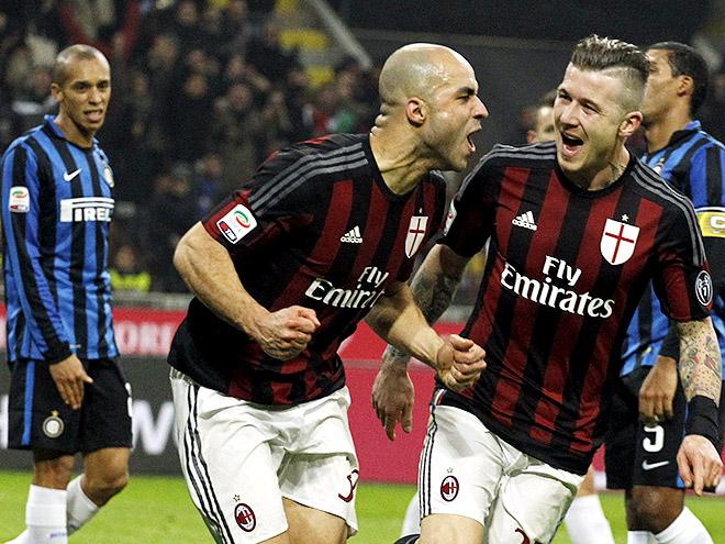 «Милан» – «Интер» – 3:0. Обзор матча. Видео