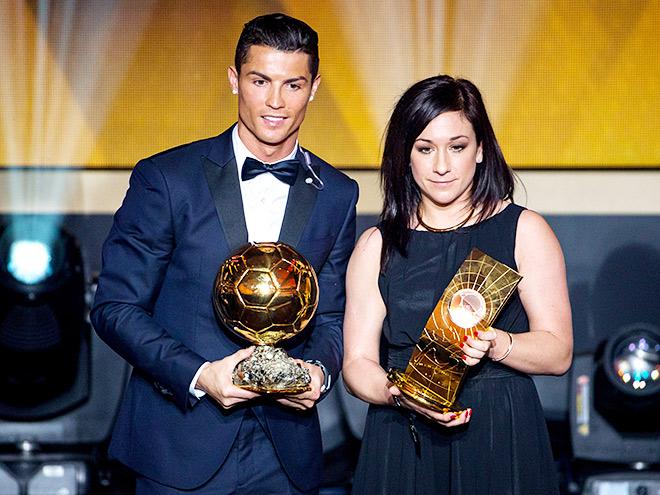 Роналду получил «Золотой мяч» ФИФА 2014 года