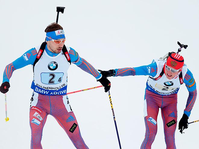 Антон Шипулин и Антон Бабиков