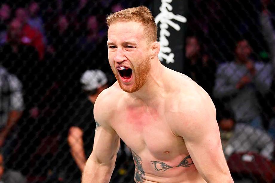 Великий Гэтжи. Главный рубака UFC снова выдал незабываемое шоу