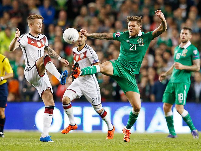 Ирландия — Германия — 1:0