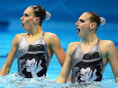 Лондон-2012. Синхронное плавание