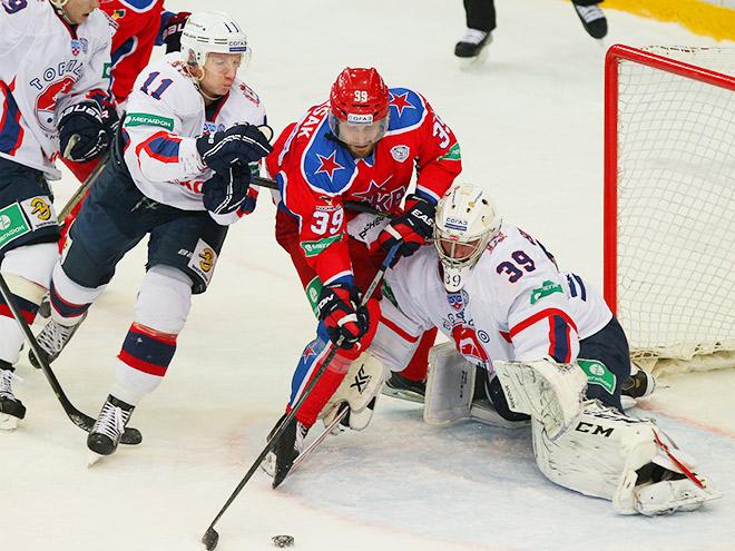ЦСКА обыграл «Торпедо»