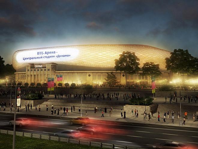 Как идёт строительство нового стадиона «Динамо»