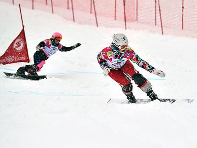 На олимпийской трассе пока без медалей