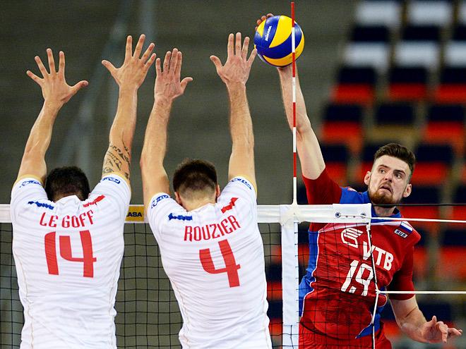 Россия — Франция — 0:3