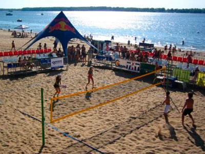 Чемпионат мира по пляжному теннису в Москве