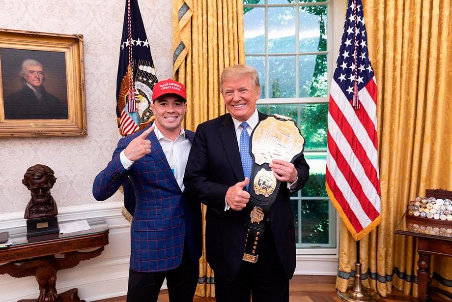 Ковингтон победил Лоулера на UFC on ESPN 5 и теперь подерётся за титул