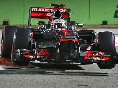 Анализ квалификации Гран-при Сингапура Формулы-1