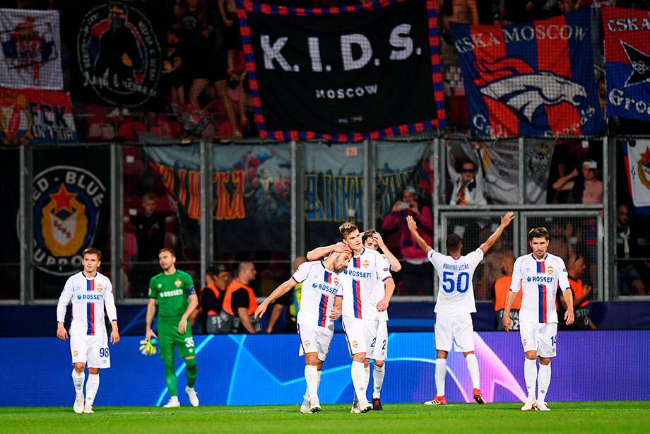 ЦСКА за тайм забил четыре. Засчитали только два