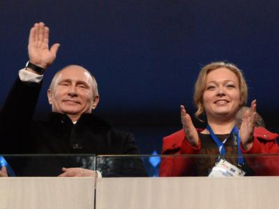 Владимир Путин и Ирина Скворцова