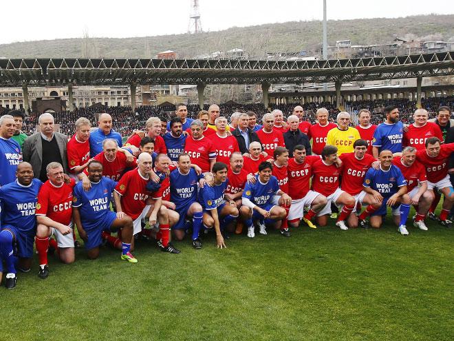 В Ереване сыграли матч в честь Хорена Оганесяна