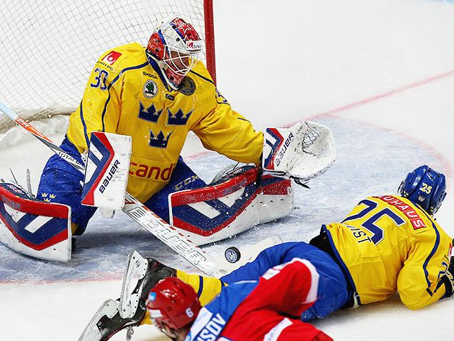Кубок Первого канала 2015. Россия – Швеция – 1:4