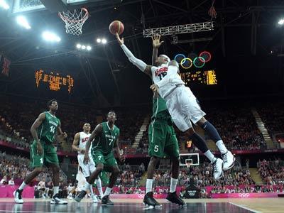 Лондон-2012. Баскетбол. США – Нигерия