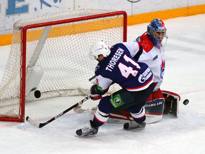 СКА во второй раз разгромил ЦСКА, теперь со счётом 7:1