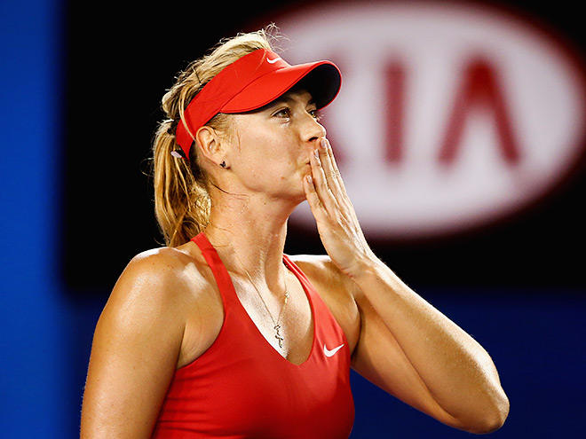 Шарапова удачно начала Australian Open-2015