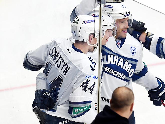 Дмитрий Синицын - о своём дебюте в КХЛ