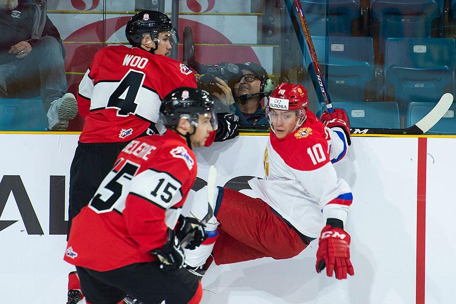 Сборная WHL – молодёжная сборная России – 2:1