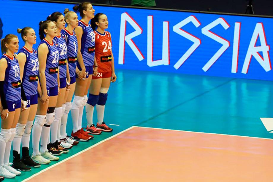 Женская сборная России сыграет с Германией, Японией и Турцией в Лиге наций