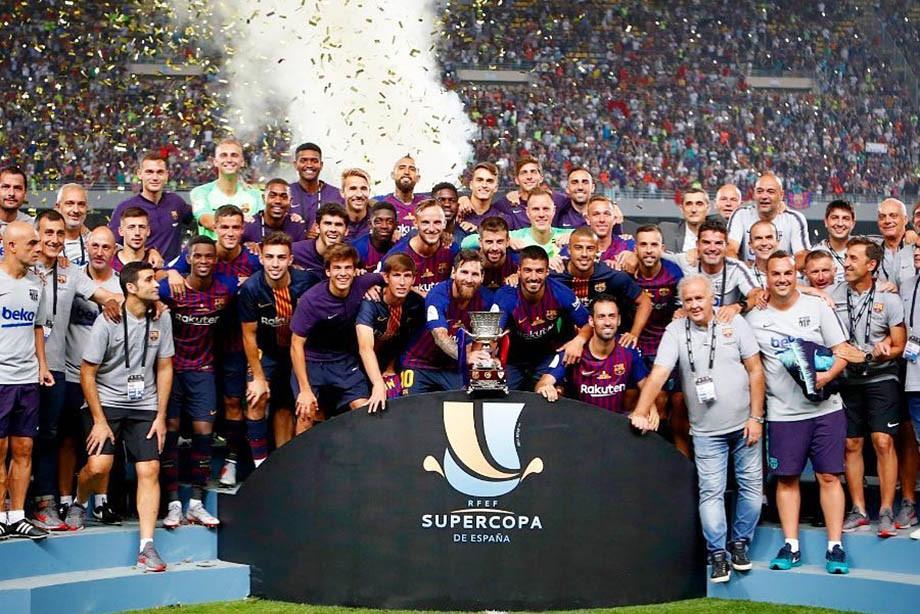 Артуры и Король. Как «Барселона» сломила «Севилью» в Суперкубке