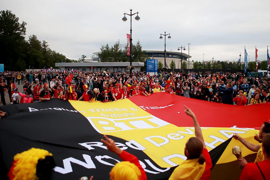 ЧМ-2018. Болельщики сборной Бельгии