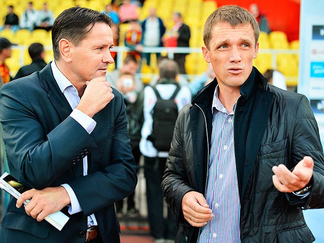 Дмитрий Аленичев и Виктор Гончаренко