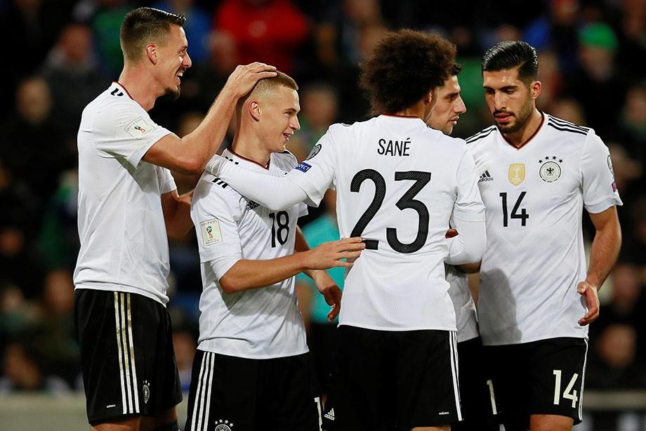Сборная Германии вышла на чемпионат мира — 2018 — оптимальный состав ... 410ccdcc008