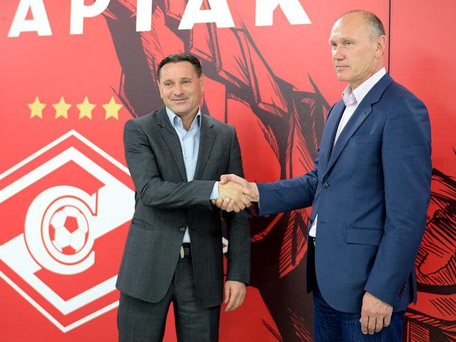 Вопрос дня. Аленичев остаётся в «Спартаке». Вы рады?