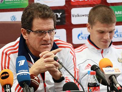 Фабио Капелло и Игорь Денисов