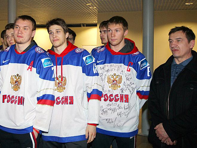 Командное фото сборной России U20