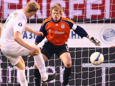 "Кубок УЕФА-2007/08. ""Зенит"" – ""Бавария"" – 4:0"