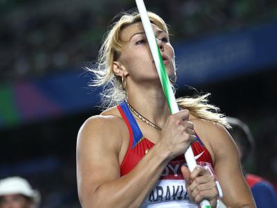 Лондон 2012. Лёгкая атлетика. Мария Абакумова