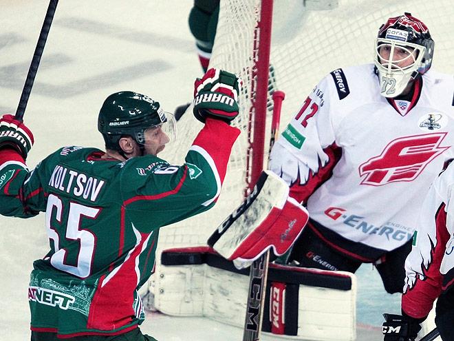 Плей-офф КХЛ. «Авангард» - «Ак Барс» - 0:2