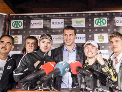 Заур Байсангуров и Лукаш Конечны встретились со СМИ