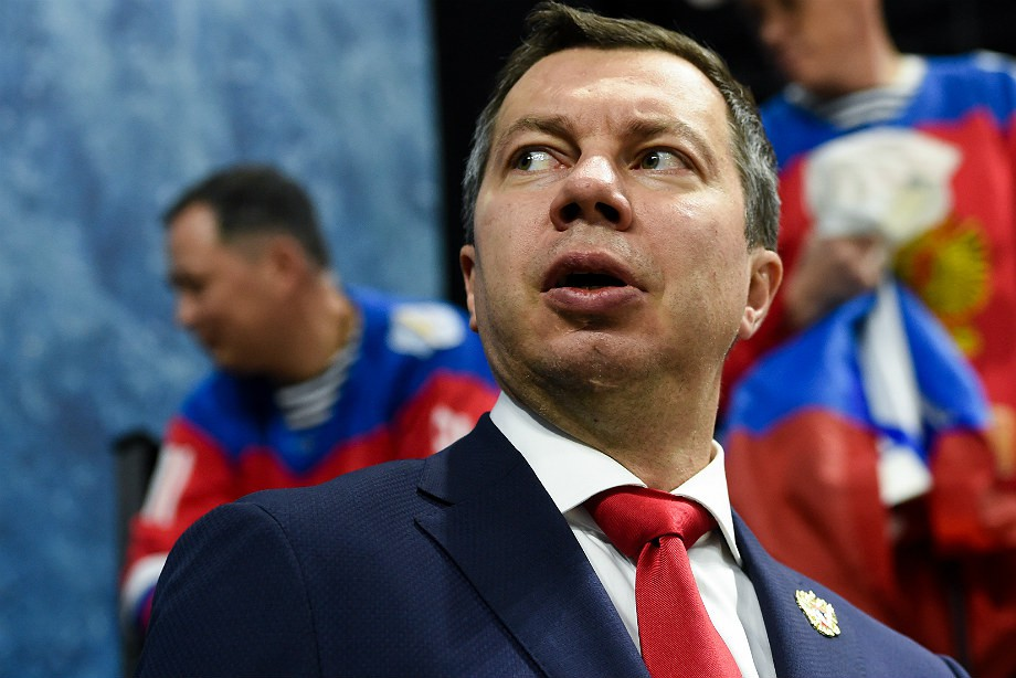 Илья Воробьёв, сборная России по хоккею