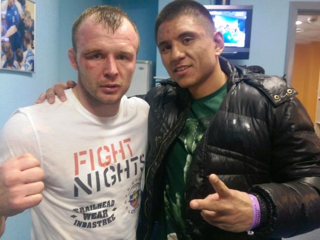 Интервью с Александром Шлеменко после боя