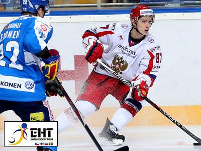 Сборная России выиграла у Финляндии
