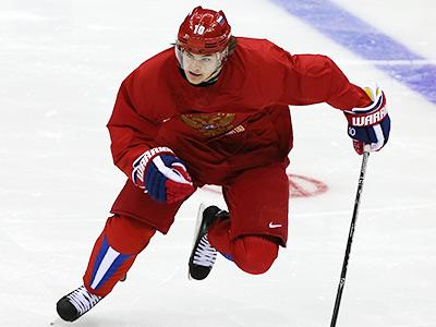Сочи-2014. Хоккей. Тренировка сборной России