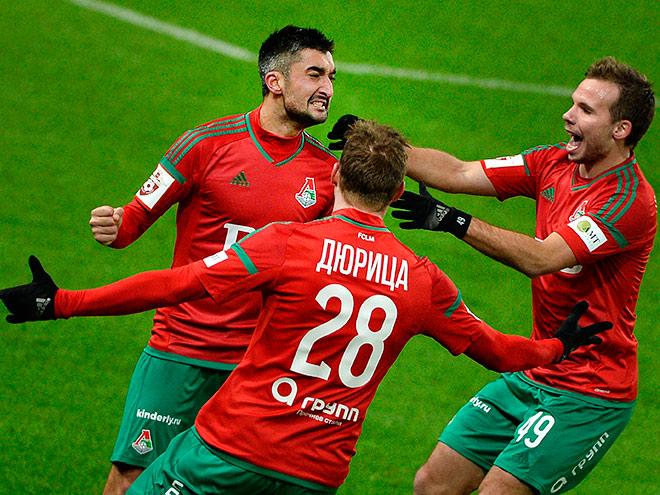 Видео. 5 лучших голов 21-го тура российской Премьер-Лиги