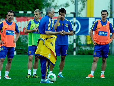 Сегодня сборная Украины сыграет с Камеруном