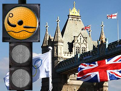 """""""Лондонский светофор"""". Водное поло"""
