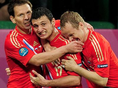Россия начала Евро-2012 с разгрома чешской сборной – 4:1