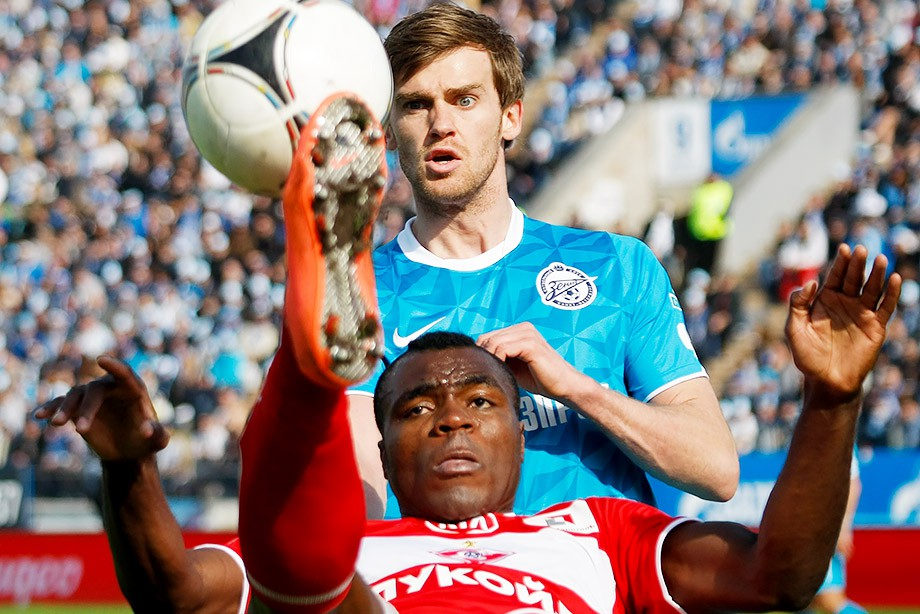 Дзюба лишил «Зенит» победы вматче против «Арсенала»